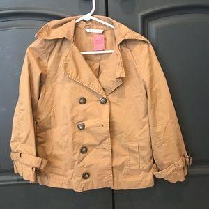 Old Navy Tan Short Trench Coat